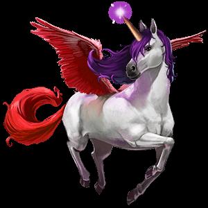 cheval divin bellacorne