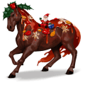 cheval divin pudding de noël
