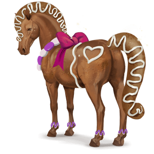 cheval divin gingerbread